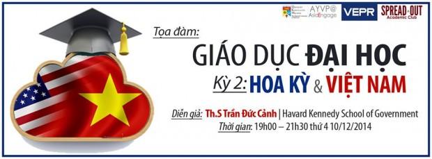 """Ths. Trần Đức Cảnh với """"Đối thoại Giáo dục Đại học Hoa Kỳ & Việt Nam"""""""