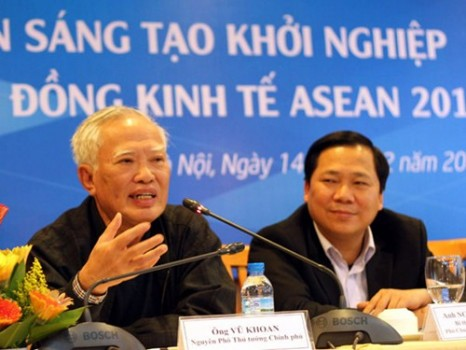 Nguyên Phó thủ tướng Vũ Khoan: Thanh niên phải có tức khí để khởi nghiệp