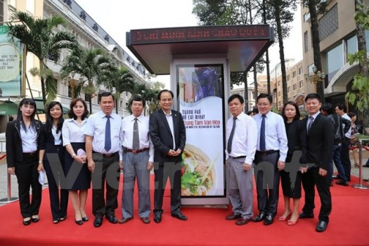 """Ra mắt """"Trạm Điện thoại-Thông tin"""" đầu tiên tại TP. Hồ Chí Minh"""