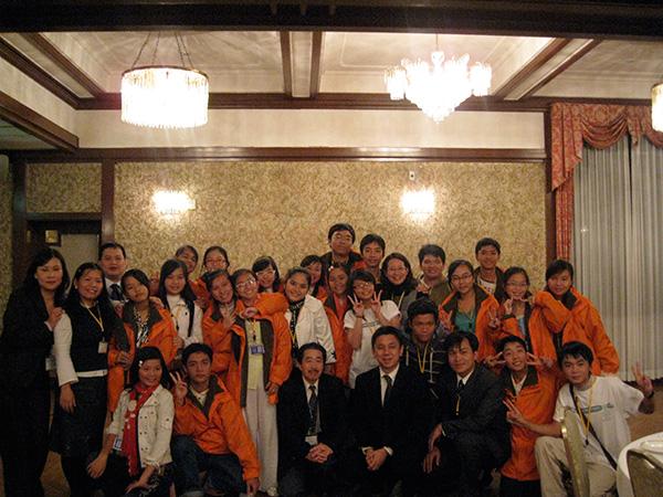 Giao Lưu Sinh viên Thanh Niên Đông Nam Á tại Nhật Bản 2008