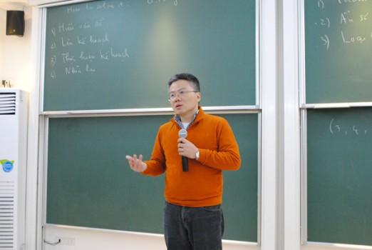 GS Ngô Bảo Châu: Giải bài toán như viết một kịch bản