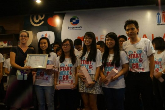 Chúc mừng bạn Hạnh Nguyễn đã giành giải nhì cuộc thi Media Connect CompetitionCom
