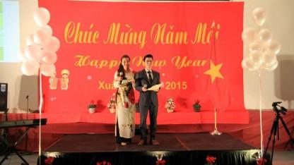 2 MC Linh Dương và An Võ của Tết Tình Yêu