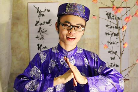 Du học sinh Việt háo hức chuẩn bị clip chúc tết gửi về Việt Nam