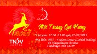 Chương trình Một Thoáng Quê Hương sẽ được diễn ra vào thứ 7, ngày 07/02/2015 tại MIT Student Center, Lobdell, 77 Mass Ave, Cambridge, MA 02139. Facebook Hội Thanh Niên...