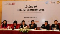 Tại khu vực Thành phố Hồ Chí Minh, mọi hoạt động của cuộc thi English Champion sẽ được chủ trì bởi Anh ngữ Việt Mỹ VATC. Cuộc thi dự kiến...