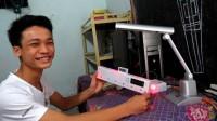 Một học sinh lớp 12 đã sáng chế thành công thiết bị cảnh báo những khuyết tật học đường này, đồng thời tích hợp thêm một số tính năng hỗ...