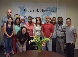 Công bố học bổng Hubert Humphrey học tập tại Hoa Kỳ