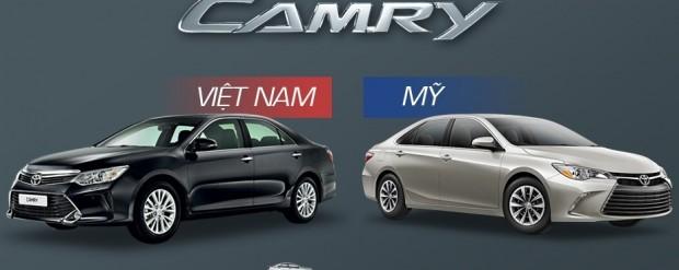 Camry Việt khác gì Camry Mỹ?