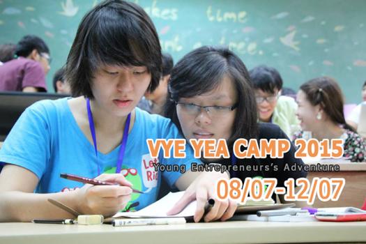 VYE YEA CAMP 2015 – Hành trình Doanh nhân Trẻ