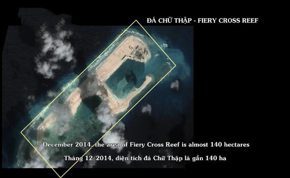 Hoạt động phá vỡ nguyên trạng ở Biển Đông  của Trung Quốc (TQ)