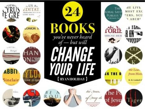 24 cuốn sách sẽ làm thay đổi cuộc đời bạn