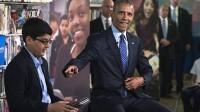 Trong chương trình hỏi đáp giữa Tổng thống Mỹ Barack Obama và các học sinh trung học hôm 30/4, nam sinh lớp 6, MC chương trình đã thẳng thắn cắt...