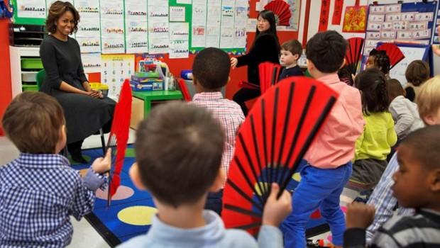 Giáo viên Mỹ biến lớp học Toán thành sân khấu