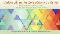 Với mong muốn cập nhật thông tin mới và nâng cao chất lượng cho các dự án từ Việt Nam tham gia cuộc thi thường niên với cơ hội nhận...