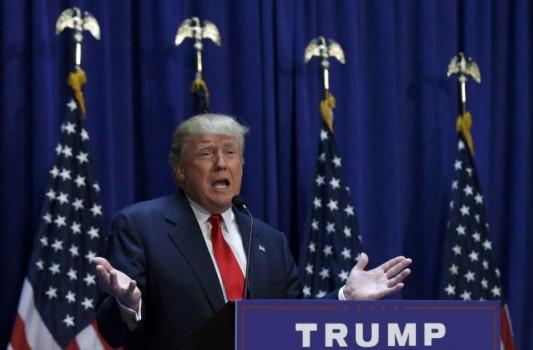 """Tỉ phú Donald Trump tranh cử tổng thống, hứa khôi phục """"giấc mơ Mỹ"""""""