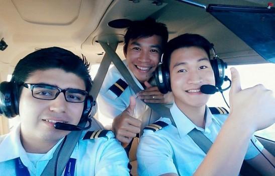 Kỳ huấn luyện phi công của du học sinh Việt tại Mỹ