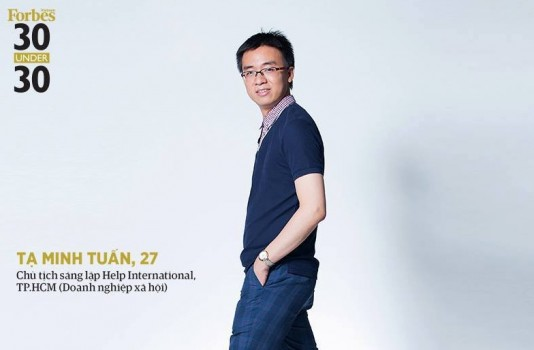 """Top """"30 under 30"""" Tạ Minh Tuấn: """"Nghị lực buộc ta dậy khỏi giường"""""""