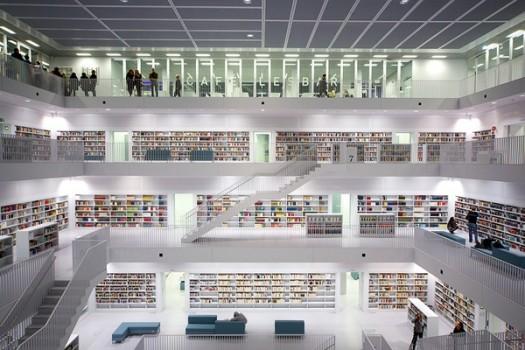 Lạ mắt trước muôn vẻ độc đáo của những thư viện khắp thế giới