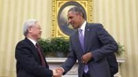 Tổng Bí thư Nguyễn Phú Trọng và Tổng thống Mỹ Barack Obama đã có cuộc hội đàm tại Nhà Trắng vào ngày 7/7/2015. Hai bên đã thông qua Tuyên bố...