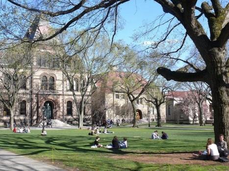 Bảng xếp hạng mới của các trường đại học thuộc hệ thống Ivy League