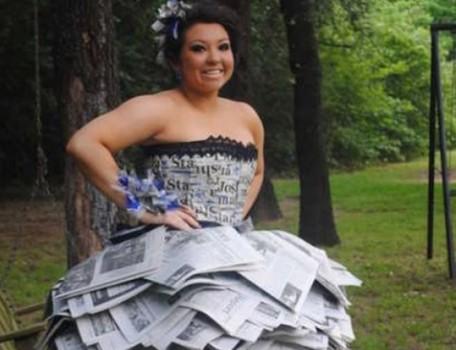 Những bộ lễ phục dự tiệc cuối năm 'điên nhất' của học sinh Mỹ