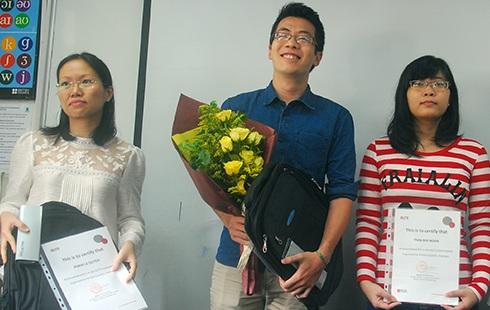 Nam sinh đầu tiên giành giải thưởng IELTS khu vực Đông Á
