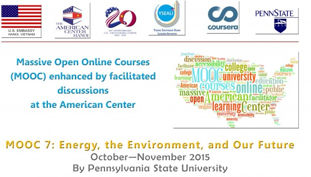 Đại sứ quán Mỹ tại Việt Nam mở lớp học trực tuyến về Năng lượng và Môi trường