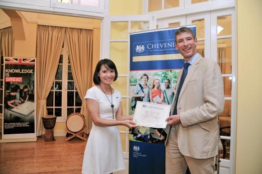 Đường đến học bổng Chevening của Hồng Thuận