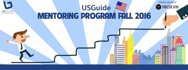 Mentoring Program Fall 2016 Của USGuide Chính Thức Mở Đơn Dành Cho Sinh Viên Việt Đến Hoa Kỳ Học Tập