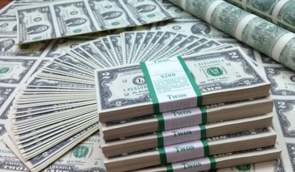 Nước Mỹ phải chi bao nhiêu tiền để in đồng đôla?