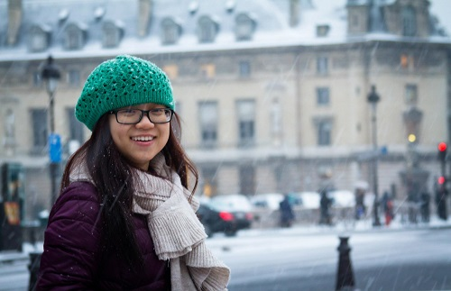 Nữ sinh giành học bổng ĐH Mỹ: 'Đi du học giống như tìm… người yêu'