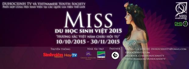 """CUỘC THI """"MISS DU HỌC SINH VIỆT 2015"""""""