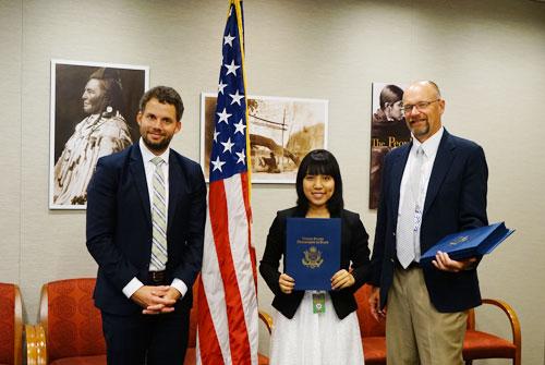 Nữ sinh Việt sẽ báo cáo trước nội các Nhật Bản