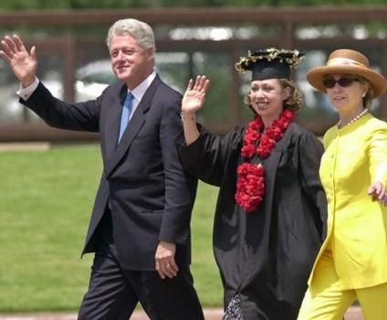 Con gái ông Bill Clinton có bằng tiến sĩ Đại học Oxford