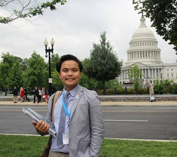 Đăng Trình – Chàng trai Việt làm Chủ tịch Quỹ tài chính của Liên Hiệp Quốc tại quận Cam, Mỹ.