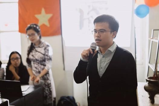 Nghiên cứu sinh tiến sĩ làm tân Chủ tịch Hội SV Việt tại Bordeaux, Pháp