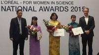 Hội đồng Khoa học L'Oréal – UNESCO Vì sự phát triển của phụ nữ trong khoa học của Việt Nam năm 2015 đã vinh danh 3 nữ nhà giáo –...