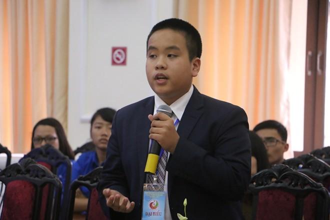 Đỗ Nhật Nam chia sẻ tại buổi tọa đàm