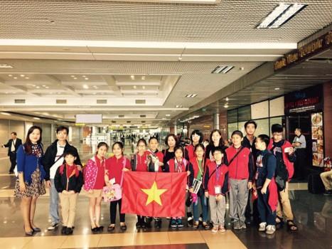 Đoàn tiểu học Việt Nam giành giải thưởng Quốc tế về lập trình công nghệ