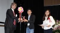 Vượt qua 79 đội chơi đến từ Nhật Bản, Hàn Quốc, Đài Loan…, đội sinh viên Việt Nam đã giành được giải Ba cuộc thi quốc tế về thiết kế...