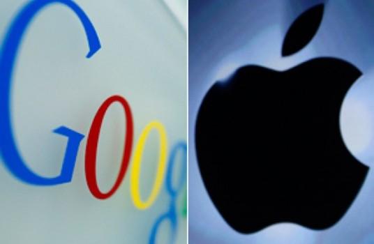 """Google sắp """"soán ngôi"""" Apple"""
