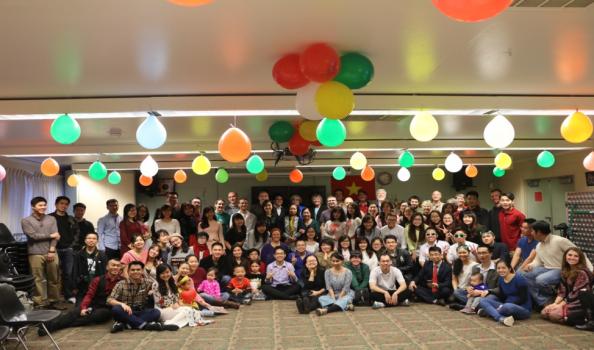 Sinh viên Việt Nam đón Tết tại Đại học Bang Colorado