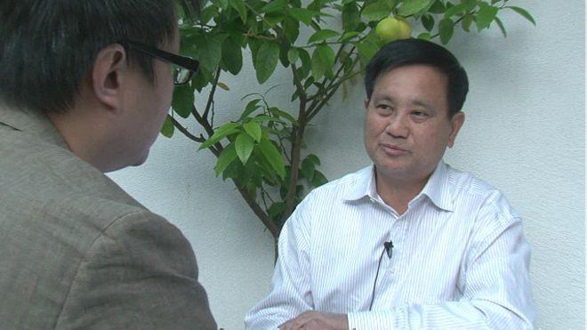 Chieu Le thừa nhận, ông không thể có được ngày hôm nay nếu không có vợ mình. Ảnh: BBC.