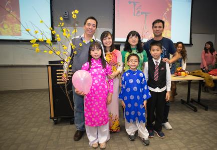 Tết đoàn viên của gia đình các du học sinh