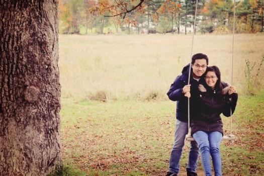 """Cặp đôi """"trái dấu"""" yêu từ cái nhìn đầu tiên, tỏ tình khi """"đi trốn"""""""