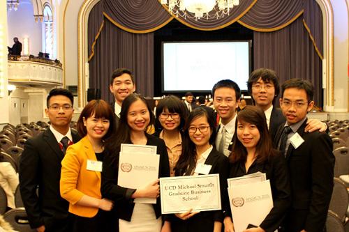 Du học sinh Việt dự hội nghị mô phỏng Liên Hợp Quốc