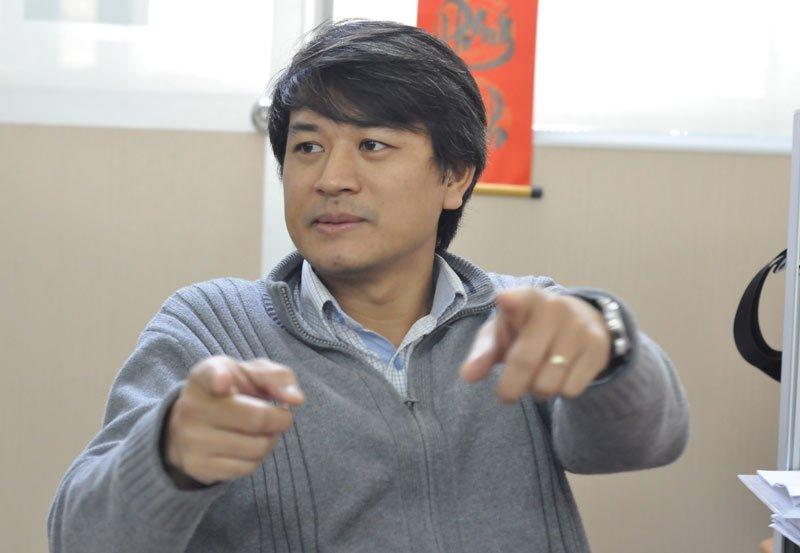 TS Trần Đình Phong (Ảnh: Văn Chung)