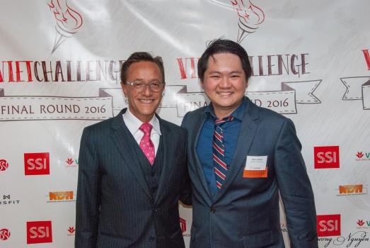 Hiều cùng ông Eduardo Ramos Gomez- giám đốc tập đoàn Duanne Morris khu vực Châu Á