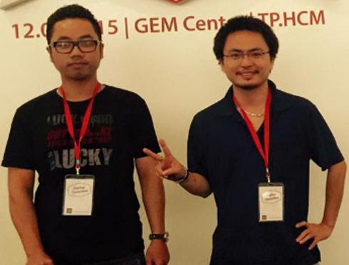 Nguyễn Minh Thảo đã chiến thắng cuộc thi Forbes Vietnam Startup Contest (2015) với ứng dụng Umbala. (Ảnh: NVCC)